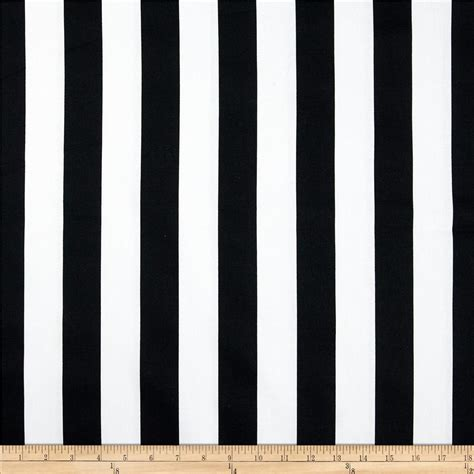 Vertical Striped Window Curtains by Premier Prints Canopy Stripe Black Discount Designer