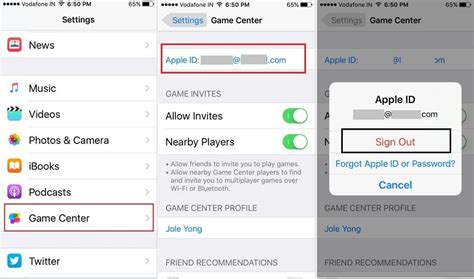iphone identifier different ways to logout apple id on iphone ipod ios 9