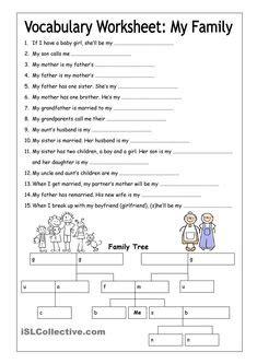 family tree images family worksheet