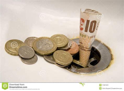 Wasting Money Concept Stock Photos