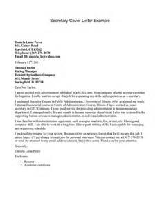 secretarial resume cover letter cover letter crna cover letter