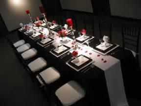 comment faire la d 233 co de table noir et blanc archzine fr