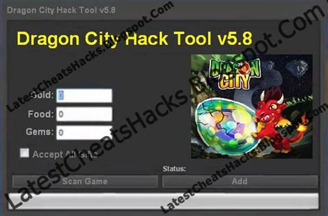 Dragon City Hack Cheat Tool v5 8 Free Downloads