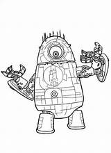 Coloring Robot Pages Lego Comments sketch template