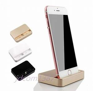 Dockingstation Iphone 5s : usb data sync cradle dock charger charging station for iphone 5 5s 5c 6 6s plus ebay ~ Orissabook.com Haus und Dekorationen