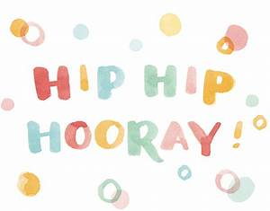 Hip Hip Hooray!