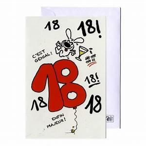 Cadeau Homme 18 Ans : carte d 39 anniversaire 18 ans show lapin show lapin ~ Melissatoandfro.com Idées de Décoration
