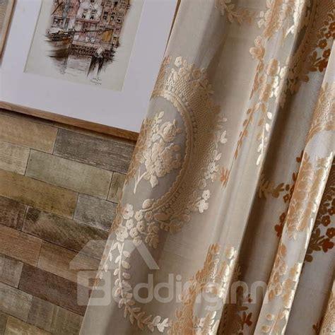 See more ideas about color, color palette, studiopress. European Style Light Coffee Color Jacquard Floral Double Pinch Pleat Curtain - beddinginn.com
