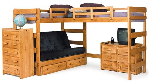 Bunk Bed With Full Size Bottom