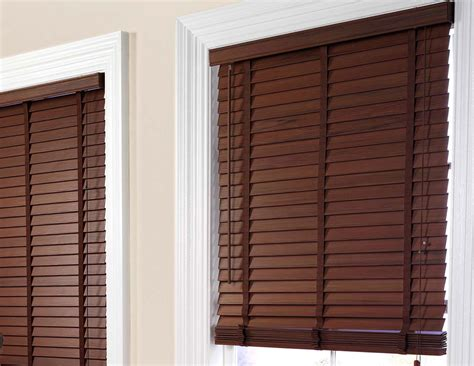 Faux Wood Blinds  Expression Blinds