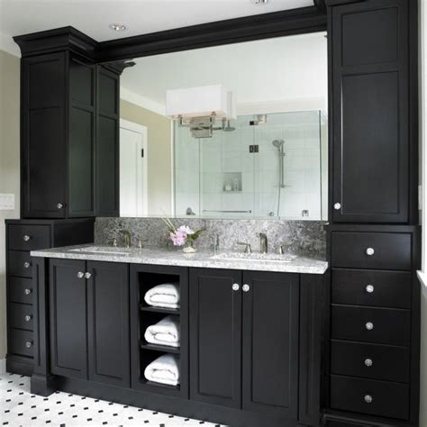 Newquay Narrow Floor Cabinet by 15 Best Ideas About Black Bathroom Vanities On