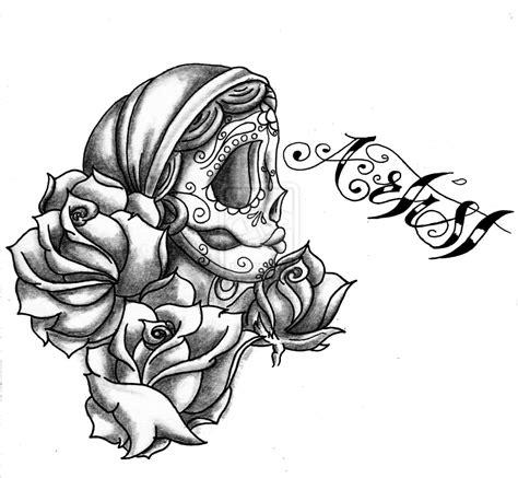 Gypsy Candy Skull Rose By Green2106 On Deviantart