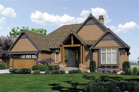 Craftsman Style House Plan 4 Beds 4 Baths 3565 Sq/Ft
