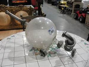 Glas Milchig Machen : large glass ball accessory to vintage milking machine ~ Kayakingforconservation.com Haus und Dekorationen