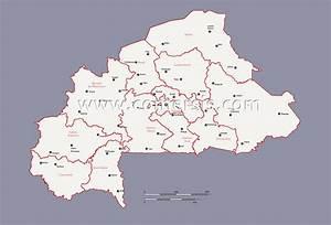 Liste Des Villes Du Nord : carte r gions et villes principales du burkina faso ~ Medecine-chirurgie-esthetiques.com Avis de Voitures