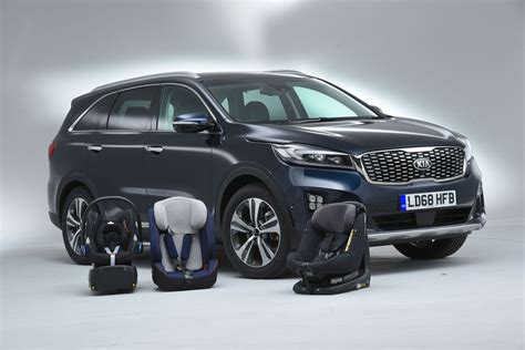 Best large SUVs for three child car seats   What Car?