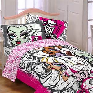 buy mattel 174 monster high twin comforter set from bed bath