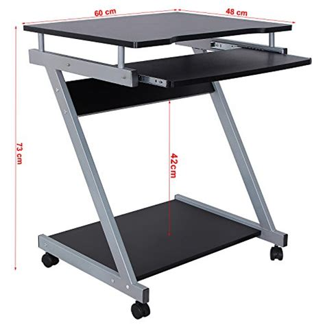 table pour ordinateur de bureau songmics bureau informatique table informatique meuble