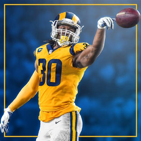 los angeles rams uniform redesign  behance