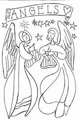 Coloring Angel Pages Angels Printable Nativity Pdf Bible Colouring Wings Inspiring Rocks Christmas Letscoloringpages Guardian Sheets Cool Adults Jesus Books sketch template
