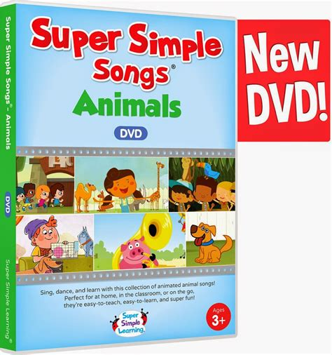 Let's Talk! With Whitneyslp Super Simple Songs Animals Dvd {a Product Review}