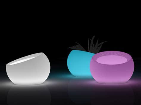vasi led led vasi illuminati illuminotecnica