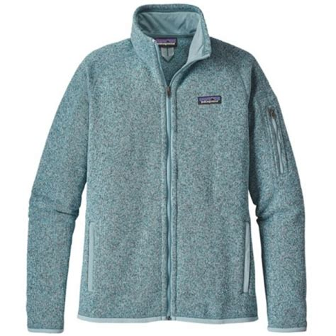 patagonia womens  sweater fleece jacket tubular