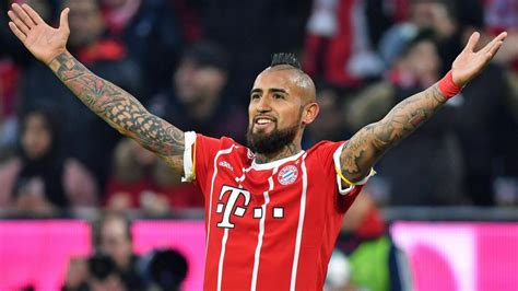 Inter milan's chilean international midfielder arturo vidal is set to undergo. Bundesliga | Bayern Munich midfielder Arturo Vidal ...