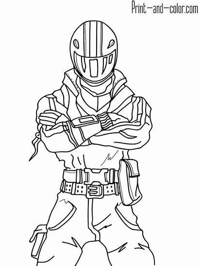 Fortnite Coloring Pages Boys