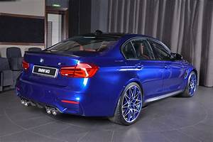 San Marino Blue BMW M3 Mixes It Up With Carbon Fiber And ...  Blue