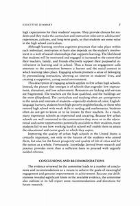 summary conclusion and recommendation examples