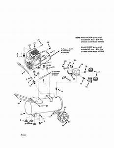 Campbell Hausfeld Wl600707 Air Compressor Parts