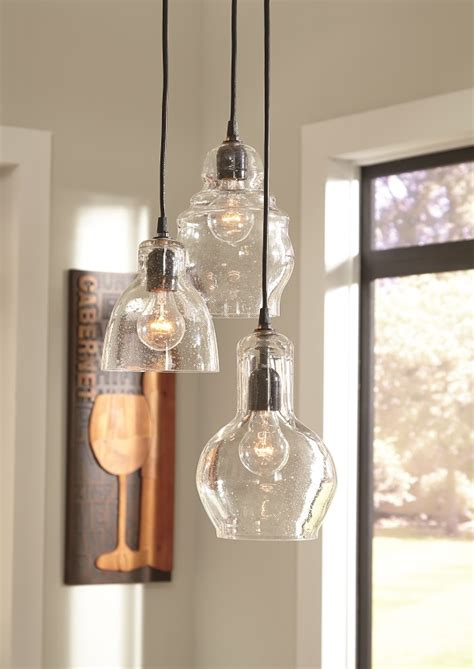 hanging pendant lights kitchen island farmhouse industrial lighting for your kitchen and dining