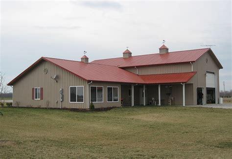 pole barn home we build tru we build tru