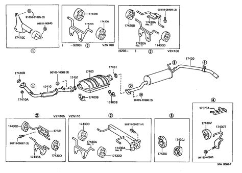 Toyota Runner Truckvznl Crmdea Tool Engine Fuel