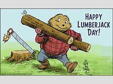 Lumberjack Day 2017 2018 2019 Calendar with holidays