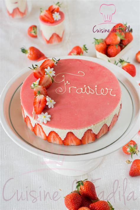 fraisier cuisine de fadila
