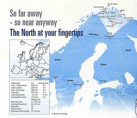 maps  saariselkae ski resort  finland sno