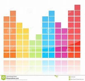 Shiny Colorful Equalizer Royalty Free Stock Photos - Image ...