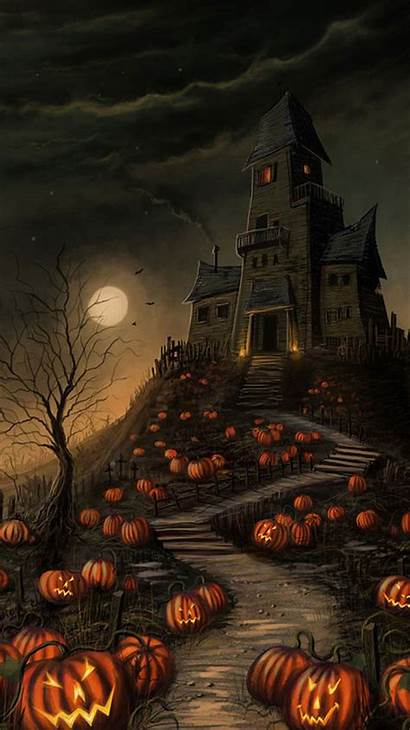 Halloween Iphone Wallpapers Fall Backgrounds Scary Background