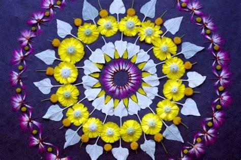 Artist Kathy Klein Creates Amazing Mandalas With Flowers