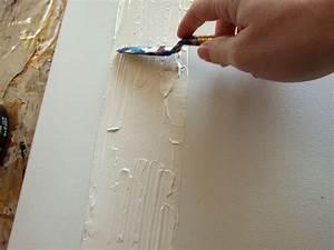 Comment Faire Du Kaki Avec De La Peinture : comment r aliser un tableau abstrait 2 de knut ~ Zukunftsfamilie.com Idées de Décoration