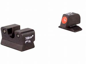 Trijicon HD Night Sight Set Beretta 92A1 96A1 Steel Matte ...