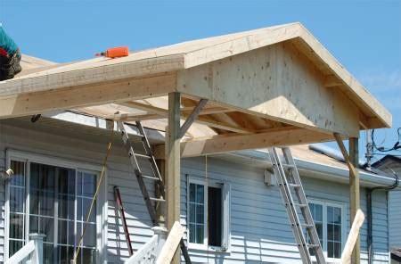 construire  toit sur mesure