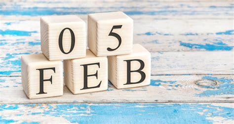 Number 5 February Calendar Calendar Date Stock Photos ...