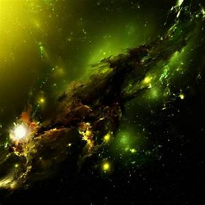Green Nebula Wallpaper - WallpaperSafari