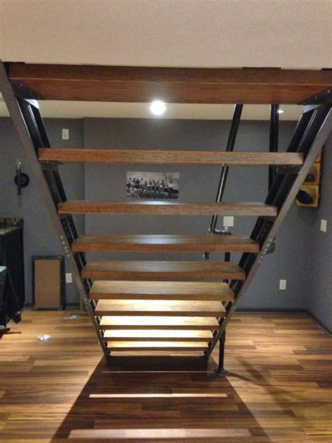 Basement Stair Stringers By Faststairs