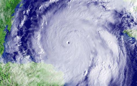 Stock Photo Of Hurricane Wilma  Category 5 Hurricane