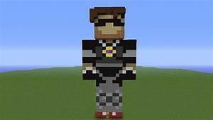 SkyDoesMinecraft Statue Minecraft Project