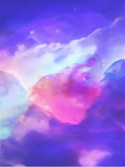 Background Computer Aurora Pngtree Psd Resolution Purple